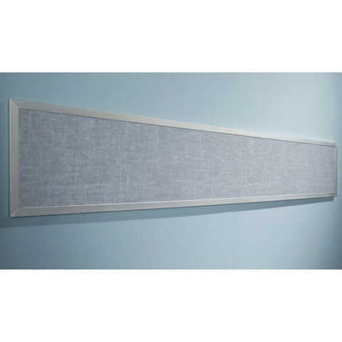 1' H x 6' W Bulletin Tackboard - Assorted Colors