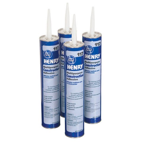 Adhesive for Frameless Dry Erase Board & Chalkboard Panels ' Four 30 oz. Tubes