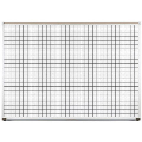 Coordinate Line White Board with Porcelain Steel Surface