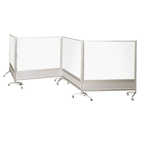 DOC Double-Sided Porcelain Markerboard Room Partition