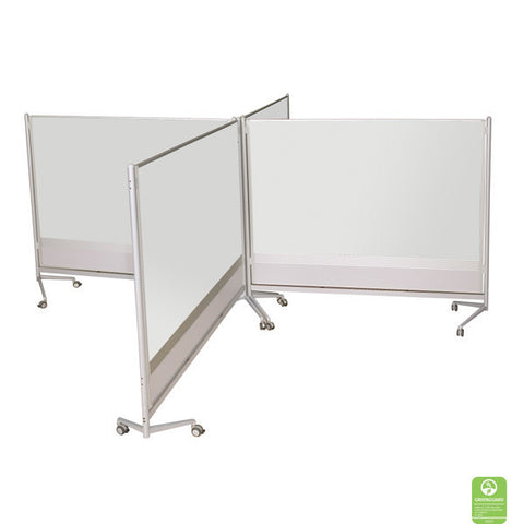DOC Single-Sided Porcelain Markerboard Room Partition