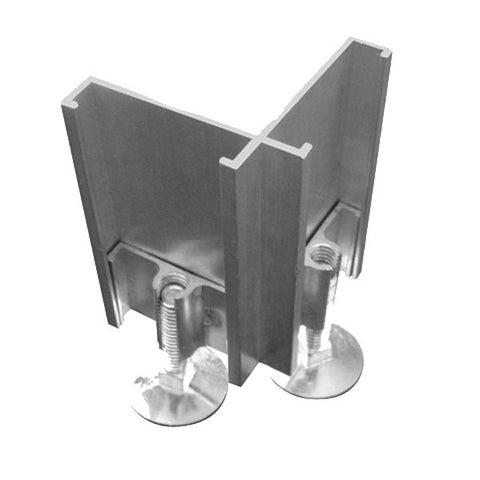 2-Way Right Foot Connector for Modular Office Divider System