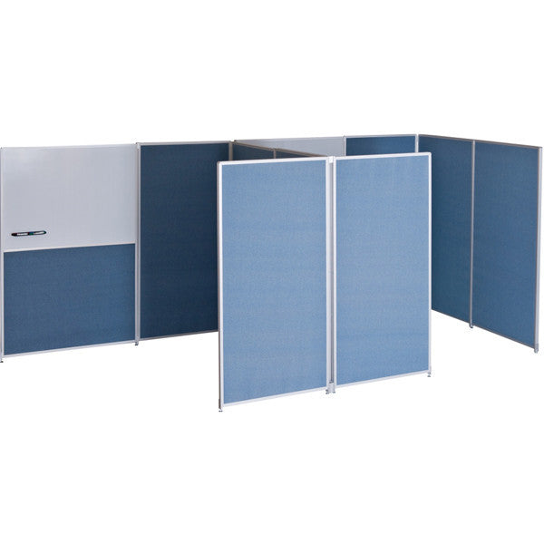 Double Sided Blue Fabric Panel 6 H x 3 W OneStop Ergonomics
