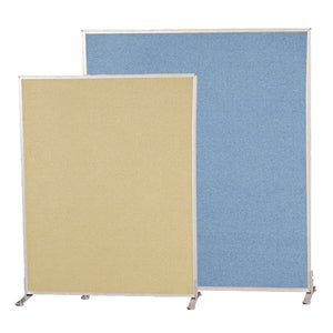 Modular Office Divider System - Double-Sided Fabric Panels - Multiple Sizes and Colors