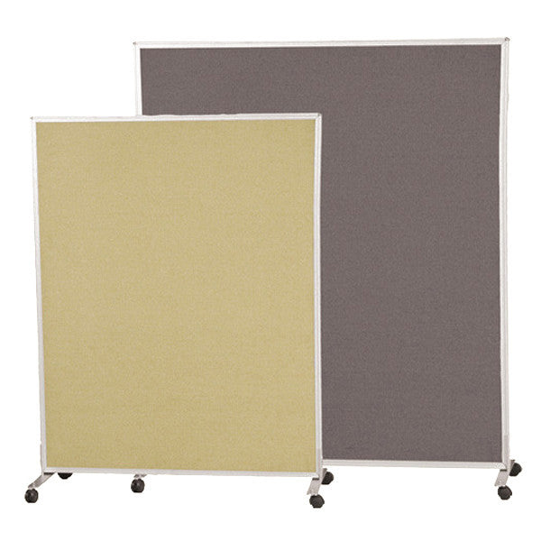 Freestanding Mobile Office Dividers   Double Sided Fabric Panels   Multiple  Sizes And Colors