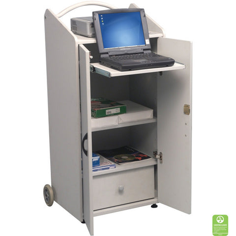 Portable Media Presentation Cart