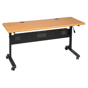 "Flipper Training Table - 60"" x 24"" - Teak"