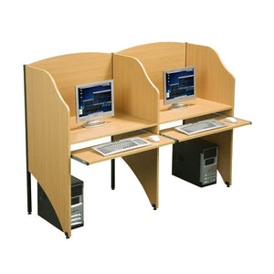 Computer Carrel System Add-On Unit
