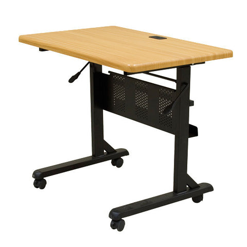 "Flipper Training Table - 36"" x 24"" - Teak"