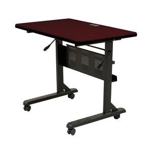 "Flipper Training Table - 36"" x 24"" - Mahogany"
