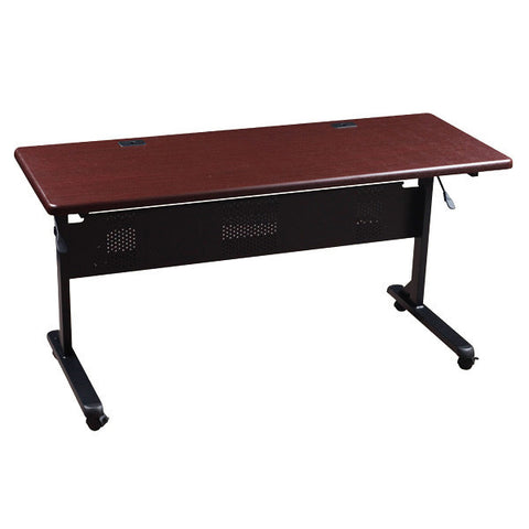 "Flipper Training Table - 60"" x 24"" - Mahogany"