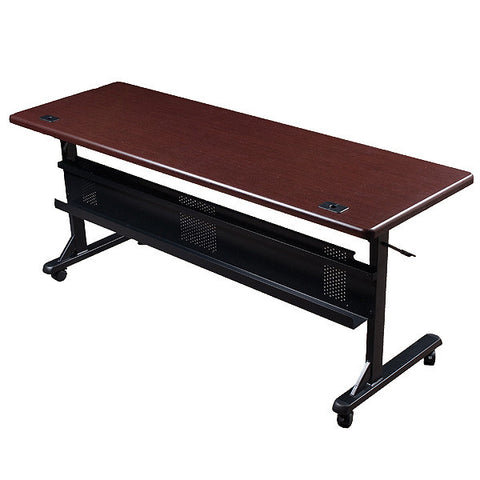"Flipper Training Table  - 72"" x 24""- Mahogany"