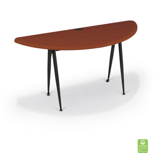 iFlex Large Half Round Table - Cherry