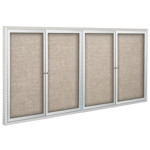 Standard Enclosed Bulletin Board With Four Hinged Doors
