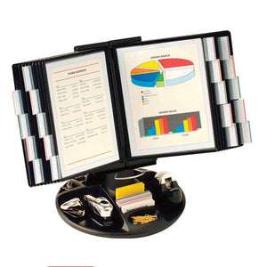 Flip and Find Desk Organizer, Choice of 10, 20, 30 or 40 Display Pockets