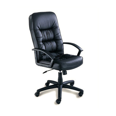 High Back Leather Executive Chair - Tall