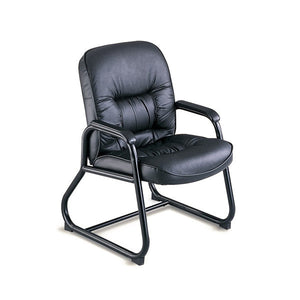executive leather guest chair