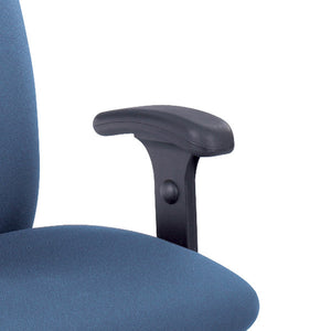 Height-Adjustable T-Pad Arms for Uber Big & Tall Series High-Back Task Chairs