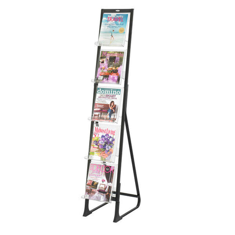Freestanding Magazine Stand for In View Display