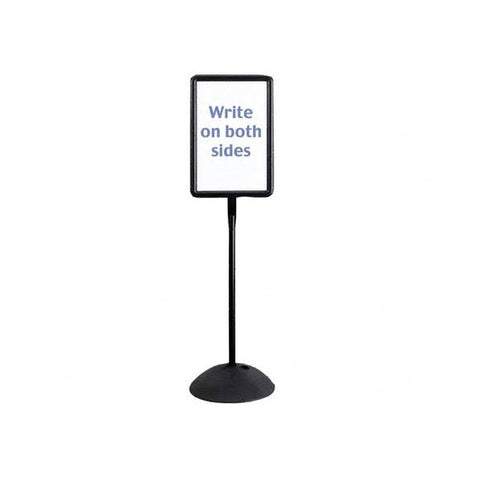 Write Way Double-Sided Rectangular Dry Erase Lobby Sign