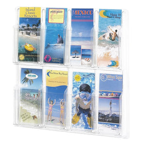 8-Brochure Clear Wall Display