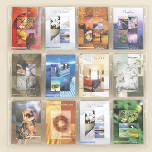 12-Booklet Clear Wall Display