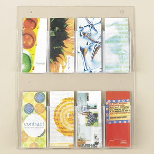 8-Brochure Economy Wall Display