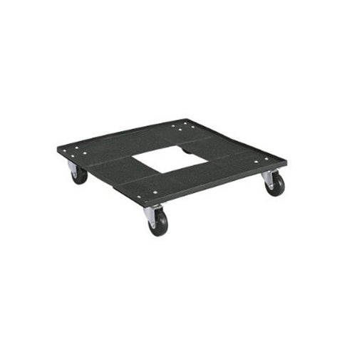 Stacking Chair Cart - Mobile Dolly - Black
