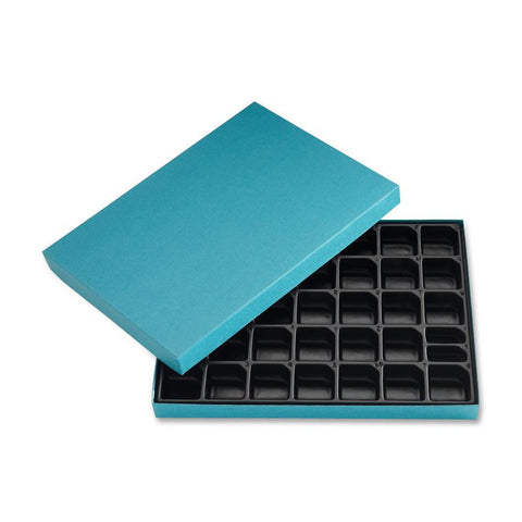 Letter Set Storage Box with Organizing Tray