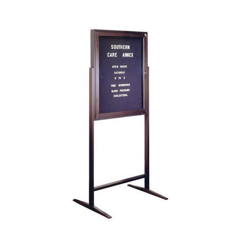 Sentry Formal Letterboard Display Stand