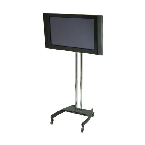 "79"" H Mobile Nesting TV Pole Stand with Rotational Mount - for 37"" to 61"" Screens"