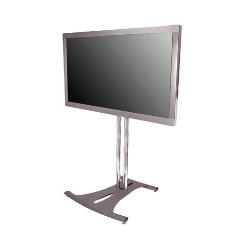 "Elliptical TV Floor Stand with Tilt Mount - for up to 68"" Screens"