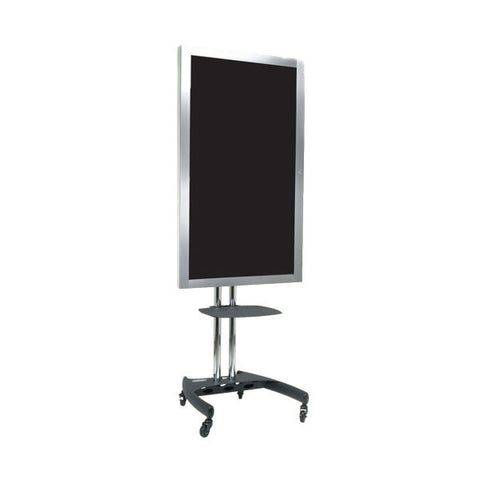 "67"" Mobile Nesting LCD Floor Stand with Rotational Mount -  for 26"" to 37"" Displays"