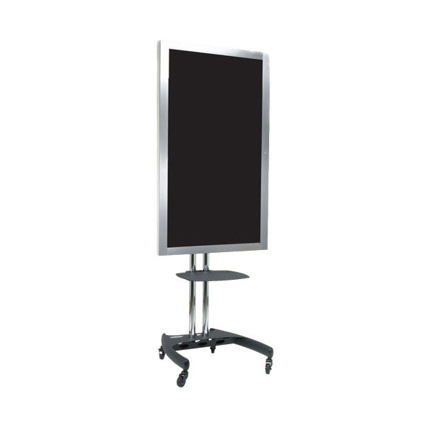 Tv Pole Stand With Rotational Mount For 37 To 61 Screens