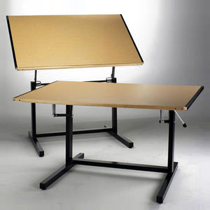 Dual Adjustment Drafting Tables