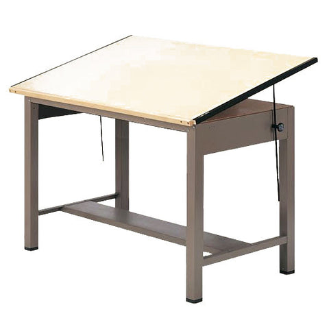 Steel Four-Post Drafting Table