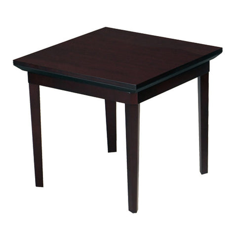 Corsica End Table - Cherry or Mahogany