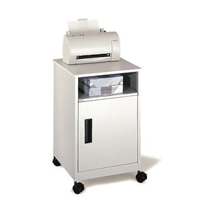 Compact Steel Printer Cabinet Stand