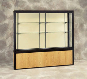 Challenger Series Display Case with Vinyl Base - Various Widths