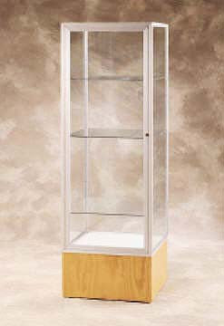 Keepsake Series Glass Tower Display Case