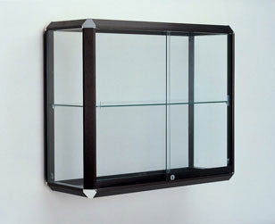 Prominence Series Glass Wall-Mounted Display Case