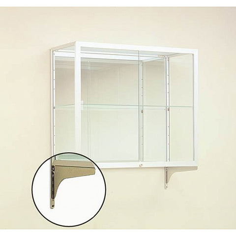 "Mounting Kit for 14"" D Heirloom or Champion Series Wall Mountable Display Cases"
