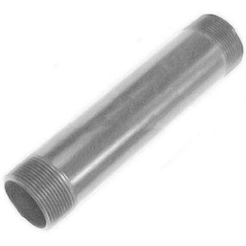 "3"" Fixed Length Extension Column with 1-1/2"" Dia. - Silver"