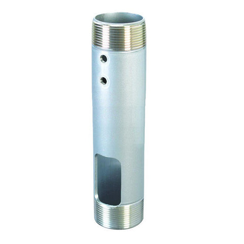 "6"" Fixed Length Ceiling Extension Column with 1-1/2"" Dia. - Silver"
