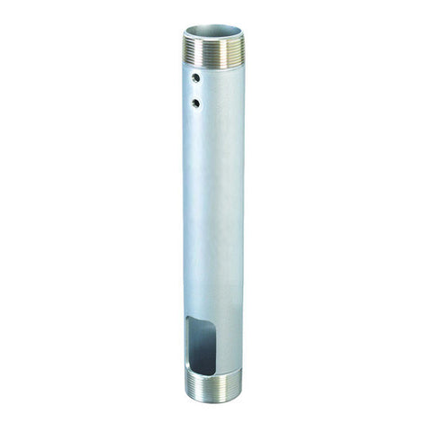"12"" Fixed NPT Ceiling Extension Column for Ceiling - Silver"