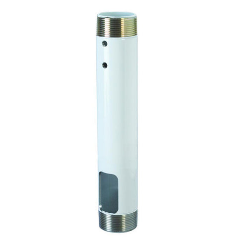 "12"" Fixed NPT Extension Column - White"