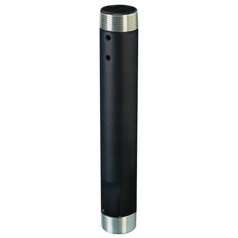 "12"" Fixed NPT Extension Column for Ceiling - Black"