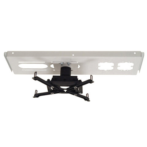 "Universal Ceiling Projector Mount Kit with Above-Tile Suspension, 3"" Drop"