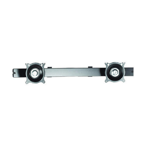 "26"" Dual Horizontal Array Pole Clamp, Silver"