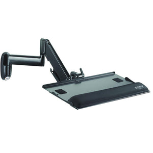 Height-Adjustable Wall-Mount Keyboard Tray